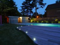 Berkhamsted - Contemporary Garden - Swimming Pool & Stores